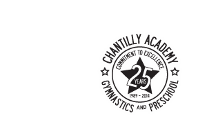 Chantilly Academy 25th Anniversary Logo 1989 - 2014